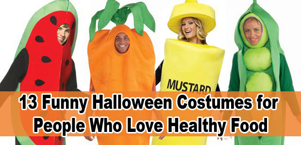 sc 1 st  Health Magazine & Funny Halloween Costumes for People Who Love Healthy Food - Health