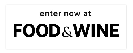 Enter Now at Food & Wine