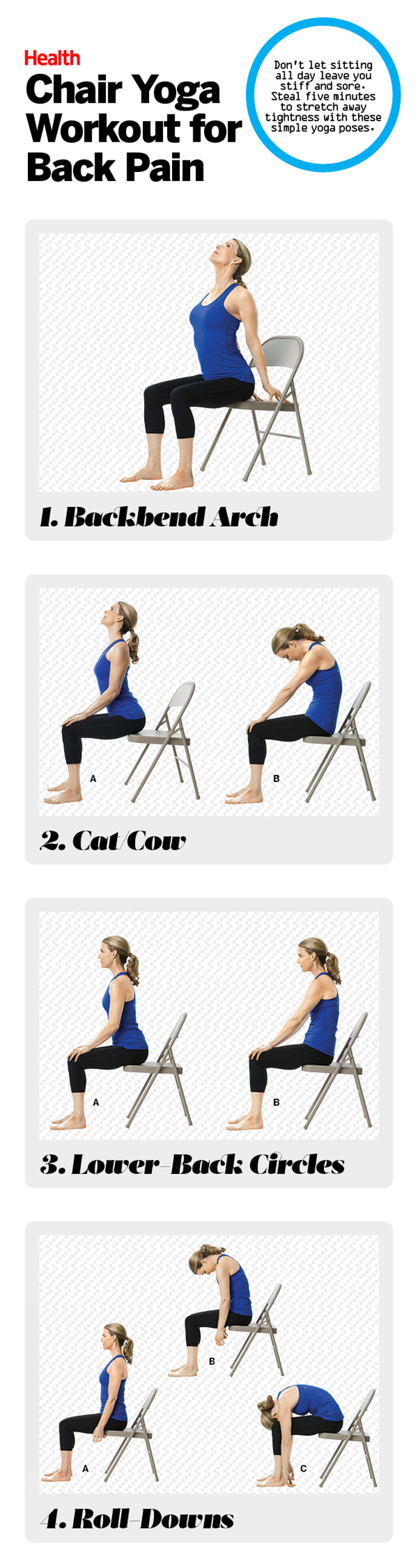 photograph regarding Printable Chair Yoga Routines called The Least complicated Chair Yoga Moves towards Fight Back again Suffering - Conditioning