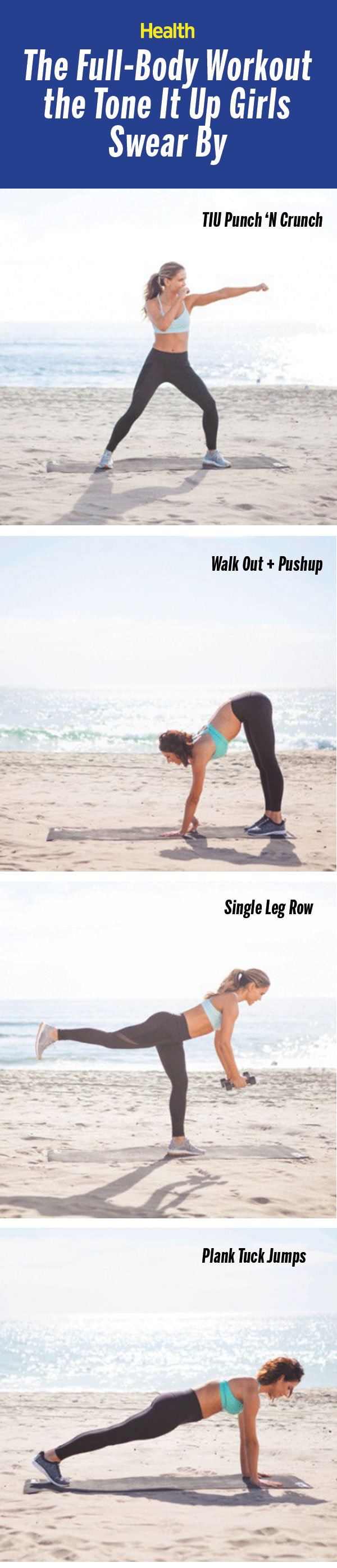 The Best Full-Body Workout From the Tone It Up Girls - Health