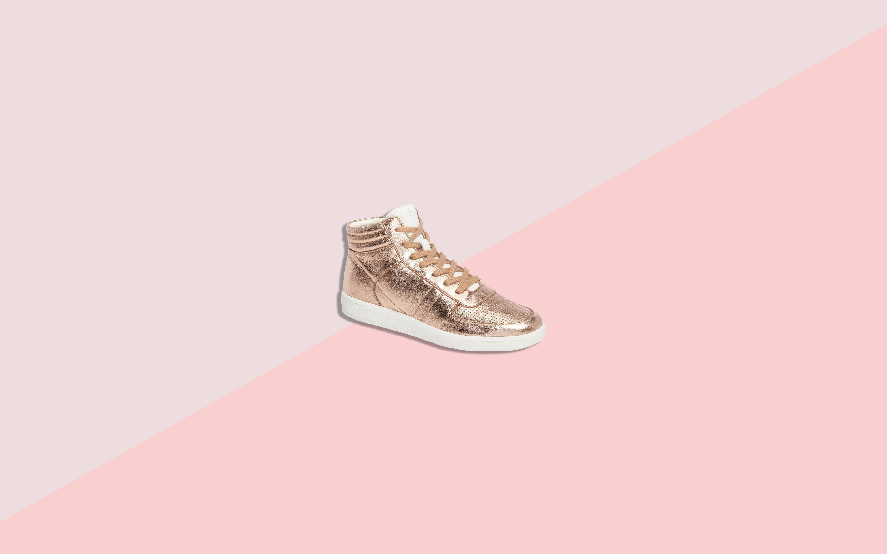 70d2e34bff1 8 Rose Gold Sneakers You Can Wear with Everything