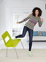 kicking-green-chair