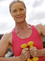 mature-woman-dumbbells
