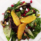 winter-salad-with-pomegranate-clementine-and-goat-cheese-video