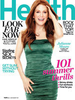 Julianne Moore July Health Magazine