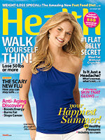 Tracy Anderson Celebrity Fitness Trainer on Health Magazine Cover ...
