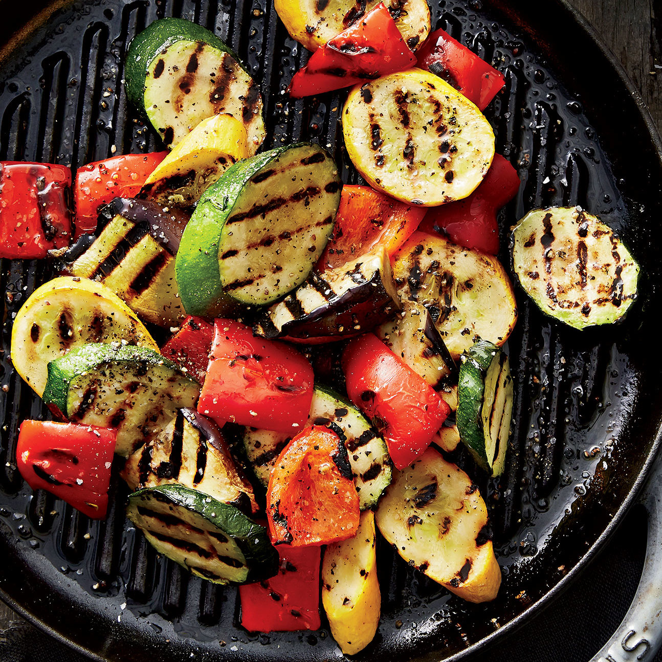 Grilled Vegetables With Creamy Turmeric Sauce Health Com