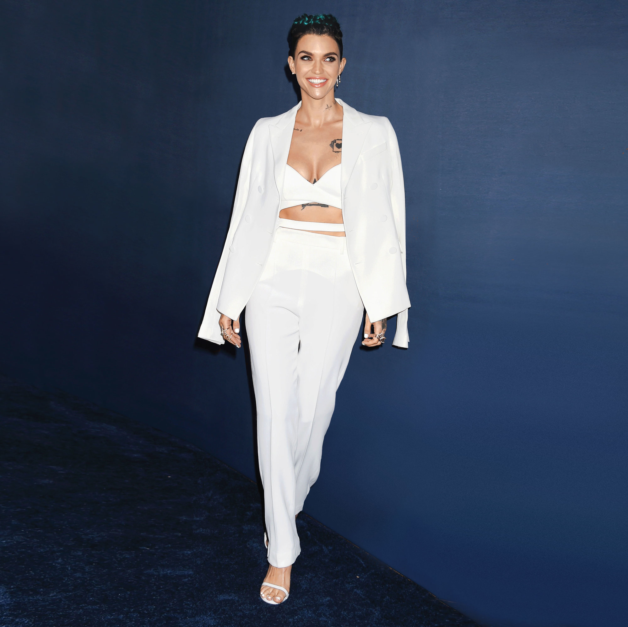 the full-body workout ruby rose swears by