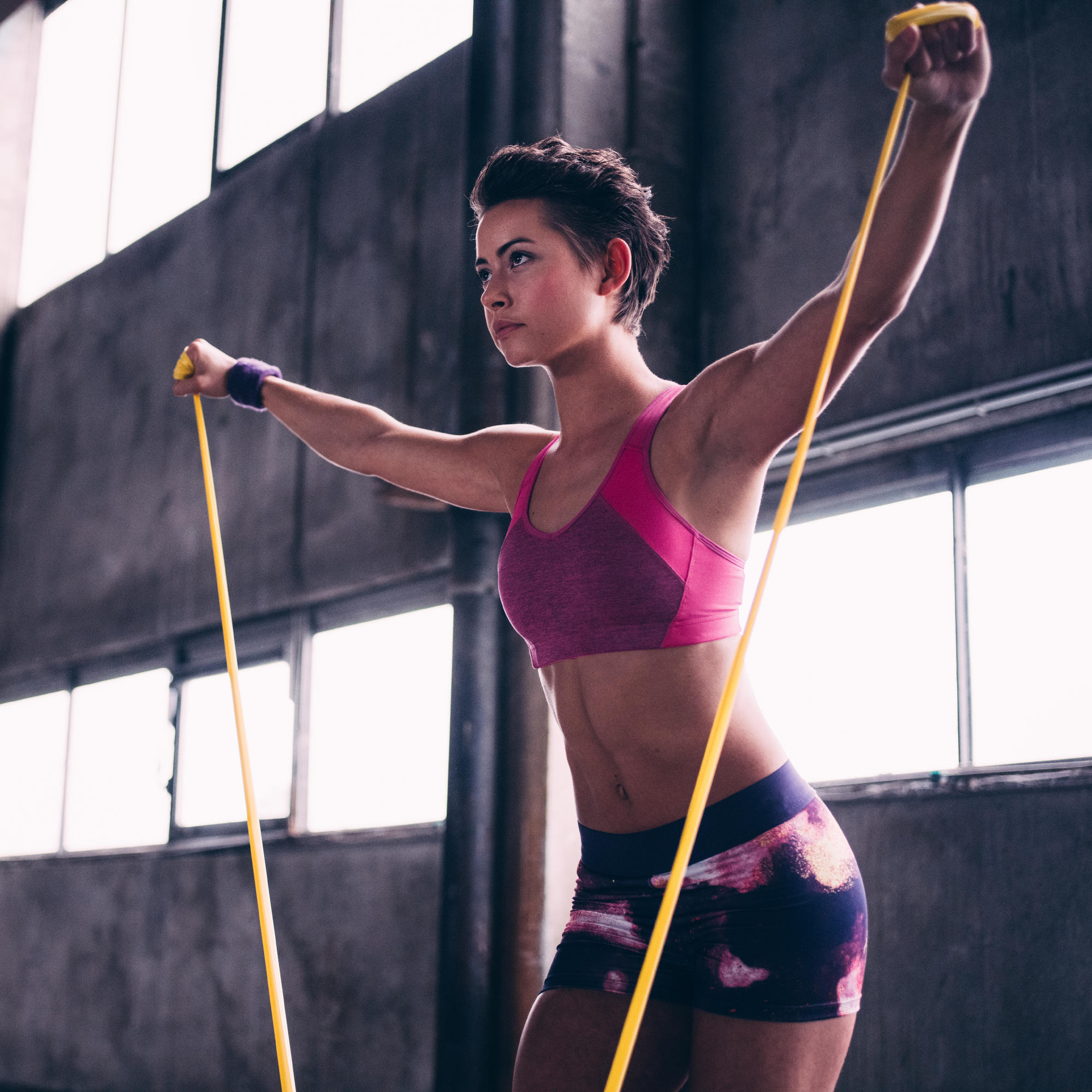 10 Resistance Band Exercises To Build Total-Body Strength