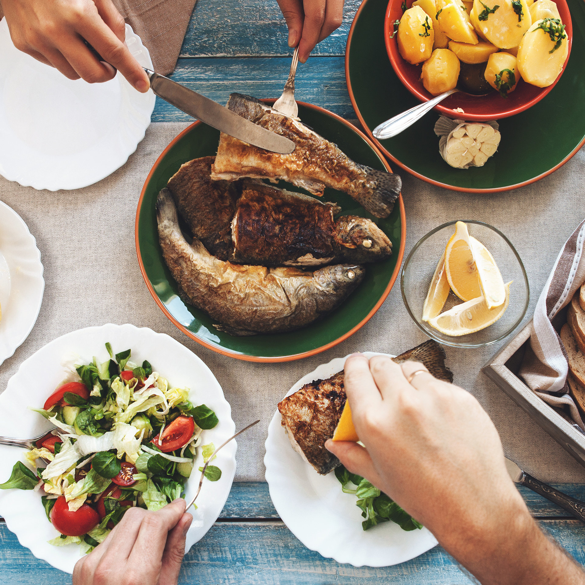 Mediterranean Diet Improves Memory And Keeps Brain Young