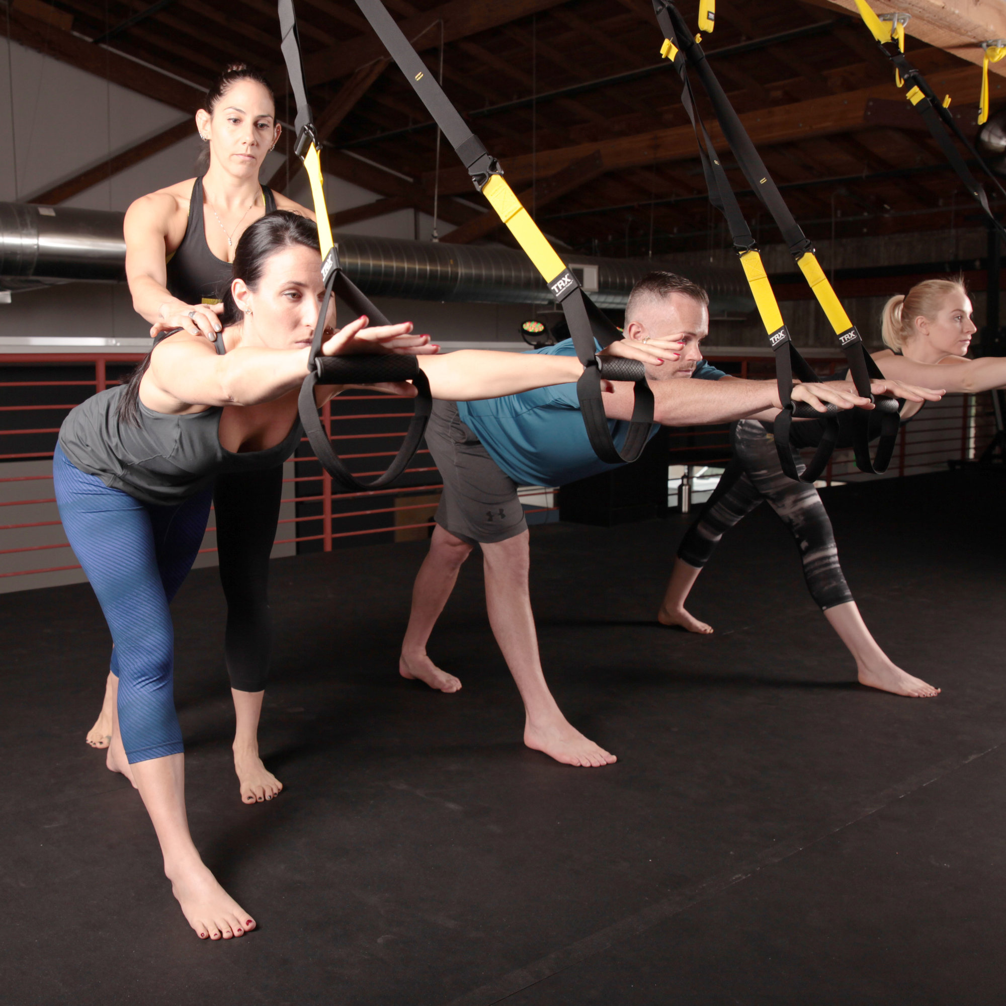 What Is TRX-Yoga? Here's What It's Like