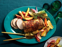 Pork Roast With Fennel and Apples