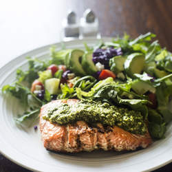 healthy meal salmon superfood dinner superfood fish