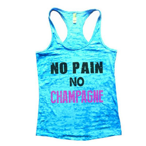 amazon-no-pain-no-champagne-tank