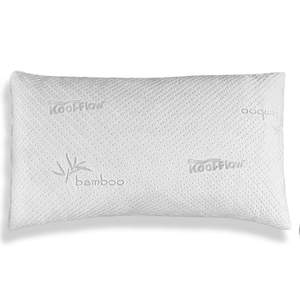bamboo pillow not contoured