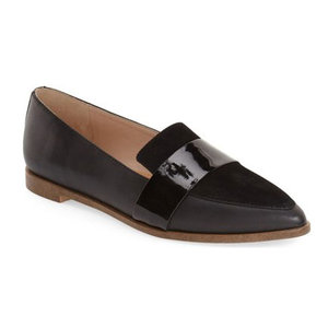 dr scholls pointed toe flat