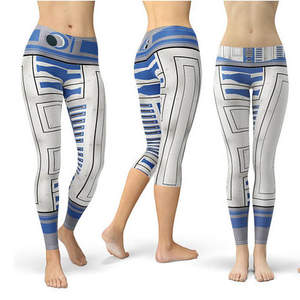 fleece leggings star wars