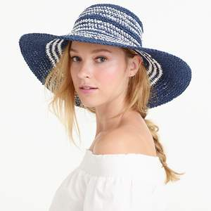 jcrew striped hat