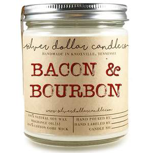 bacon bourbon candle
