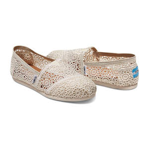11 comfort wedding shoes you can actually dance in bridal shoes toms crochet womens wedding shoes flats junglespirit Image collections