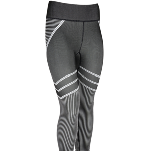 black and white  asics seamless leggings