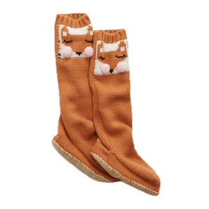 fox-sock-slippers