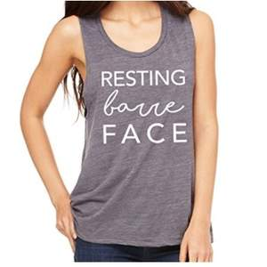 resting barre face shirt
