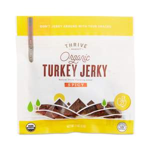 thrive market turkey jerky