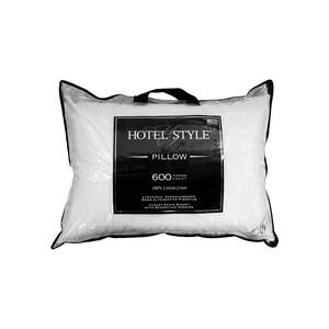 Hotel Style Luxury Cotton Hypoallergenic Down Alternative Pillow