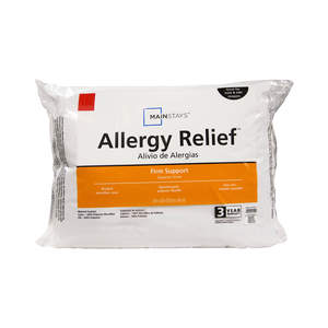 Mainstays Allergy Relief Hypoallergenic Down Alternative Pillow