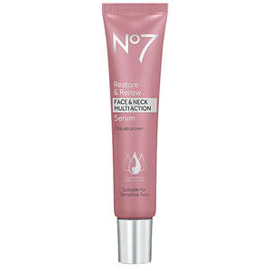 No7 Restore & Renew Face & Neck Multi-Action Serum