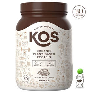 KOS Organic Plant-Based Protein Powder