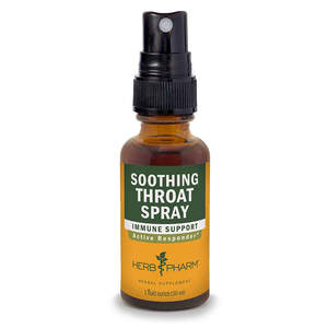 Herb Pharm Soothing Throat Spray Herbal Formula with Echinacea and Propolis