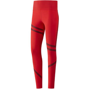 red reebok leggings