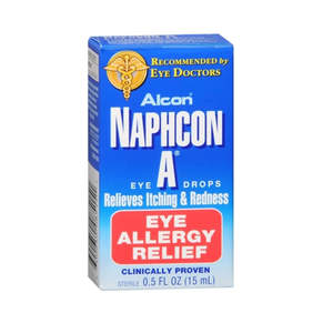 Antihistamine eye drops