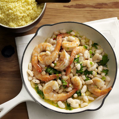 shrimp-couscous