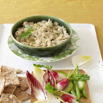 White Bean Dip - 11 Healthy Super Bowl Snacks - Health.com