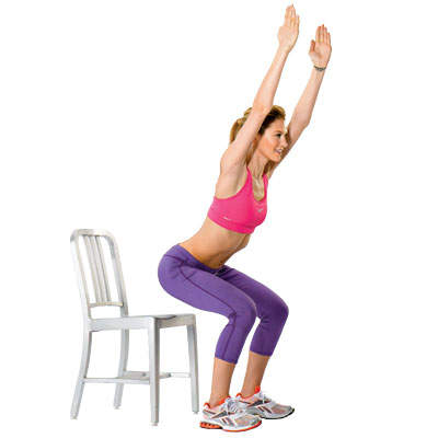 beginner-chair-squat