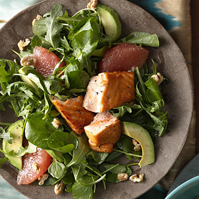 healthy-dinner-ideas-grapefruit-avocado-salmon-salad