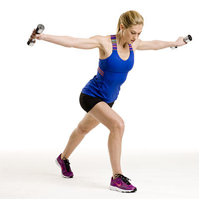 lunge-fly-curl