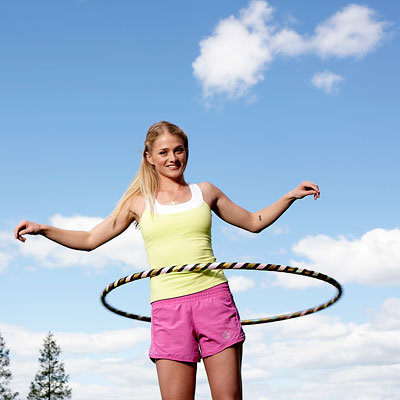 hoop yourself slim with this hula hoop workout. Black Bedroom Furniture Sets. Home Design Ideas