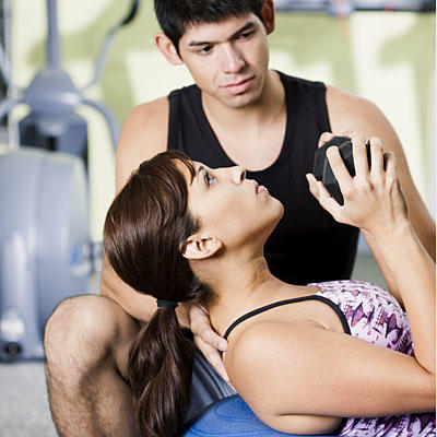 woman-and-trainer