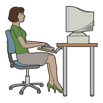 Image result for Is Your Desk Chair Causing Back Problems?