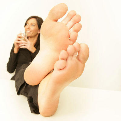 Barefoot pressure on your balls 9