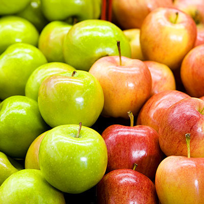green-red-apples