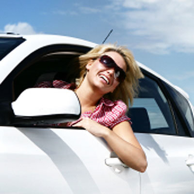 happy-woman-driving