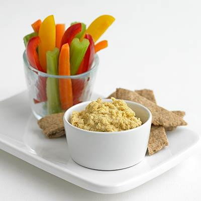 hummus-red-peppers