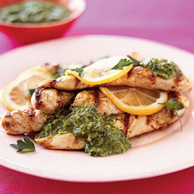 lemon-chicken-with-parsley-sauce