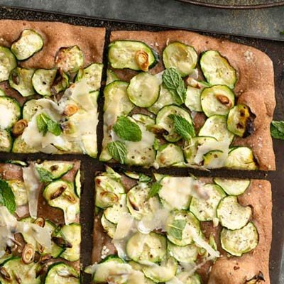 Fresh and Healthy Vegetable Pizza Recipes - Health.com
