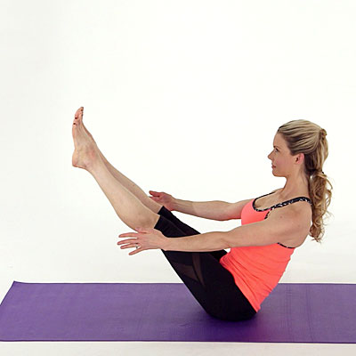 how to do the boat pose exercise  fitness  health video